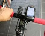 自転車の 距離計測 地図 自転車 : ハンドル周り。今回は岐阜 ...