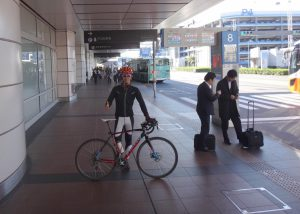 国内線第2ターミナルの到着フロア
