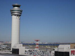 第1ターミナルの展望デッキからの風景