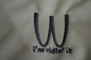 胸に燦然と輝く「W」