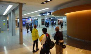 映画「ターミナル」のように何でも揃っている羽田空港
